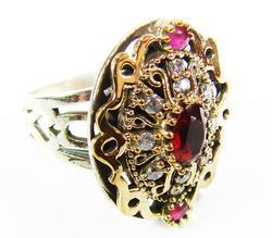 Fascinating & Elegant Intricate Details 925 S Ring