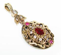 Fascinating & Elegant Intricate Details 925 S Pendant