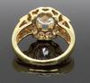 14K Yellow Gold Custom 2.20CTW Diamond Ring