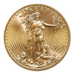 2019 American Gold Eagle 1/4 oz Uncirculated