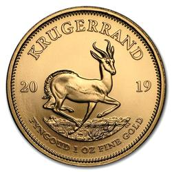 2019 South Africa Gold Krugerrand 1 Ounce