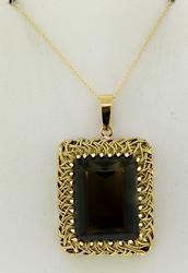 Gorgeous Smokey Quartz Vintage Necklace