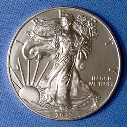 Mint Fresh BU 2019 Silver American Eagle