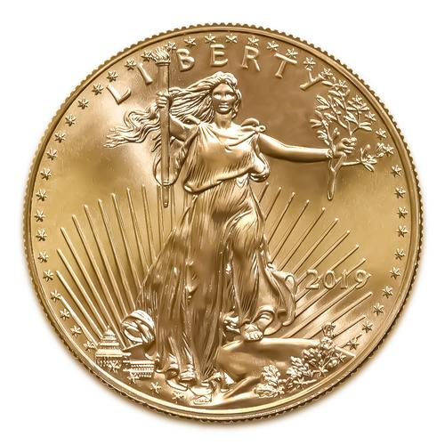 2019 American Gold Eagle 1/2 oz Uncirculated
