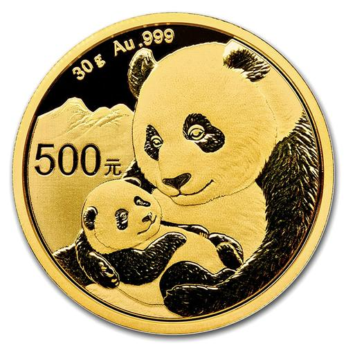 2019 Chinese Gold Panda 30 Gram
