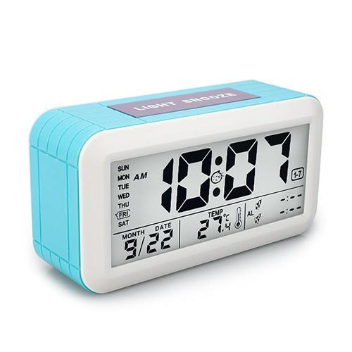 Digital LCD Display Multi-functional Electronic Clock