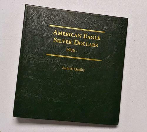 Full Set of BU Silver Eagles 1986-2001