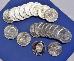 20 Proof & Bu Ike Silver Dollar