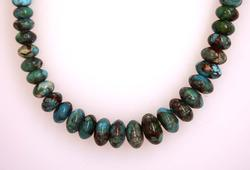Fantastic Graduated Natural Turquoise Necklace