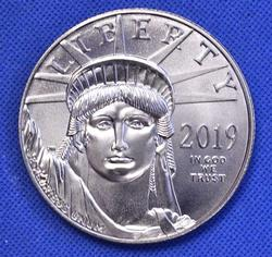 2019 Platinum $100 American Eagle, BU