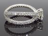David Yurman GIA Certified Engagement Ring