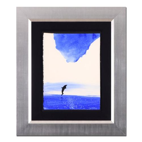 Wyland Hand Signed Framed Original Watercolor Painting