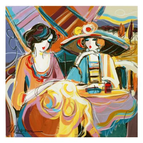 Isaac Maimon Original Acrylic Painting, Hand Signed