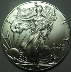 Choice 2017 Silver Eagle Really Frosted