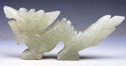 Jade Hand Carved Nephrite Sculpture
