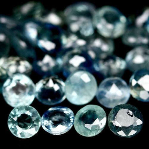 Multi-hue 7.99ct natural blue Sapphire parcel