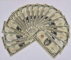 20 x $5 Red Seal Notes, Circ