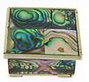 Sterling Silver Mexico Abalone Trinket Box