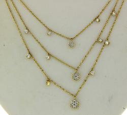 Mini Cleopatra Necklace in 14kt