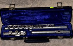 Armstrong Artley Closed Hole Sterling Silver Flute, Preowned