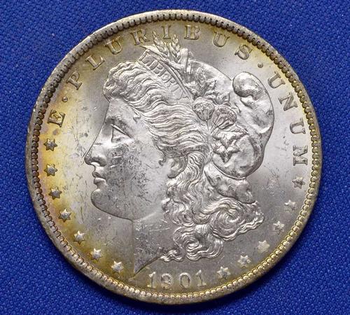 1901-O BU Morgan Silver Dollar