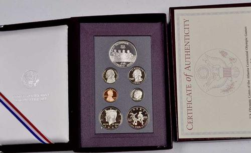 Key Date 1996 Prestige Proof Set