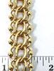 Always Popular Heavy Vintage 14K Charm Bracelet