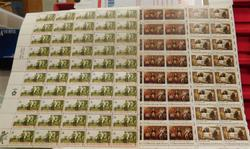 Stamp sheets, BiCentennial  $17.20
