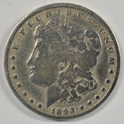 Rare key date 1893-O Morgan Silver Dollar