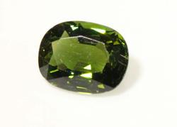 Forest Green Natural Tourmaline - 3.13 cts.