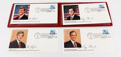 1989 Bush/Quayle Inauguration Day Stamp Covers