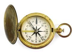 Early Waltham U.S. Military Compass