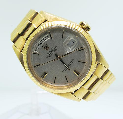 Gents 18K Yellow Gold Rolex Presidential
