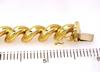Brilliant Gold San Marco Link Bracelet, 7.25in