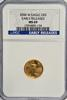 Burnished GEM 2006-W $5 Gold Early Releases. NGC MS69