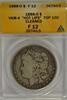 Scarce 1888-O 'Hot Lips' Morgan Silver Dollar. ANACS