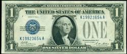 Gem Crisp Uncirculated 1928-A $1 Silver Certificate