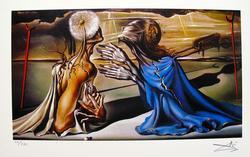 Salvador Dali, Tristan And Isolde
