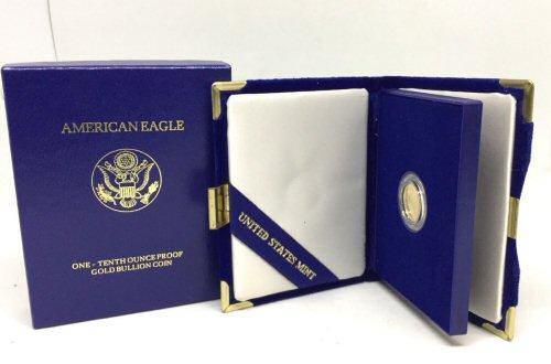 Gem Proof 1991 $5 American Gold Eagle. Box/COA.