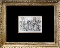 Antique Pierre Auguste Renoir Plate Circa 1919