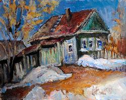 Spectacular Original Oil Painting By Lilia Safonova
