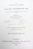 1846 Poetical Works of Oliver Goldsmith