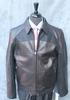 Fine Quality Black Leather Jacket By Emmanuelle Ungaro