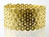 Wide & Heavy 18K Circles Bracelet