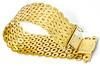 Wide & Heavy 18K Circles Bracelet