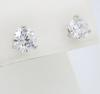 GIA Certified Martini Style 2.75CTW Diamond Earrings