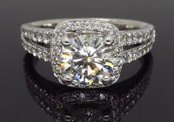 Scott Kay 1.72CTW Diamond Engagement Ring