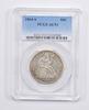 AU53 1864-S Seated Liberty Half Dollar - PCGS Graded