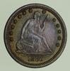 1886 Seated Liberty Quarter - Circulated