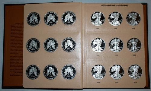 1986-2016 - 30 Coin - PROOF Silver Eagle Set